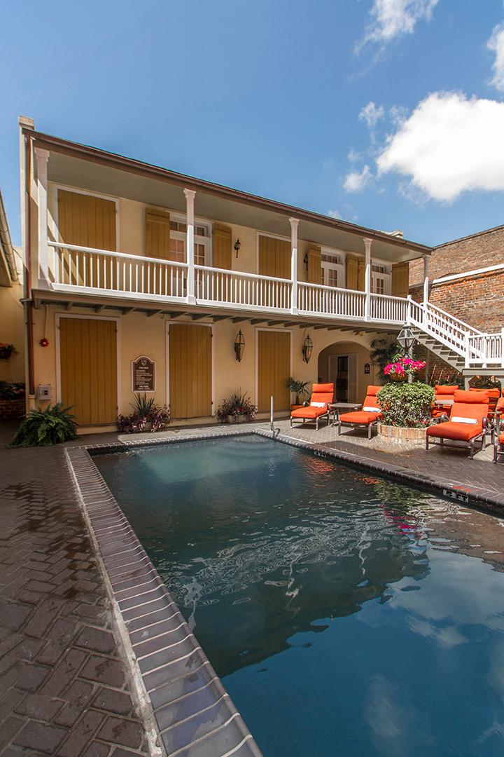 Dauphine Orleans Hotel New Orleans Louisiana La