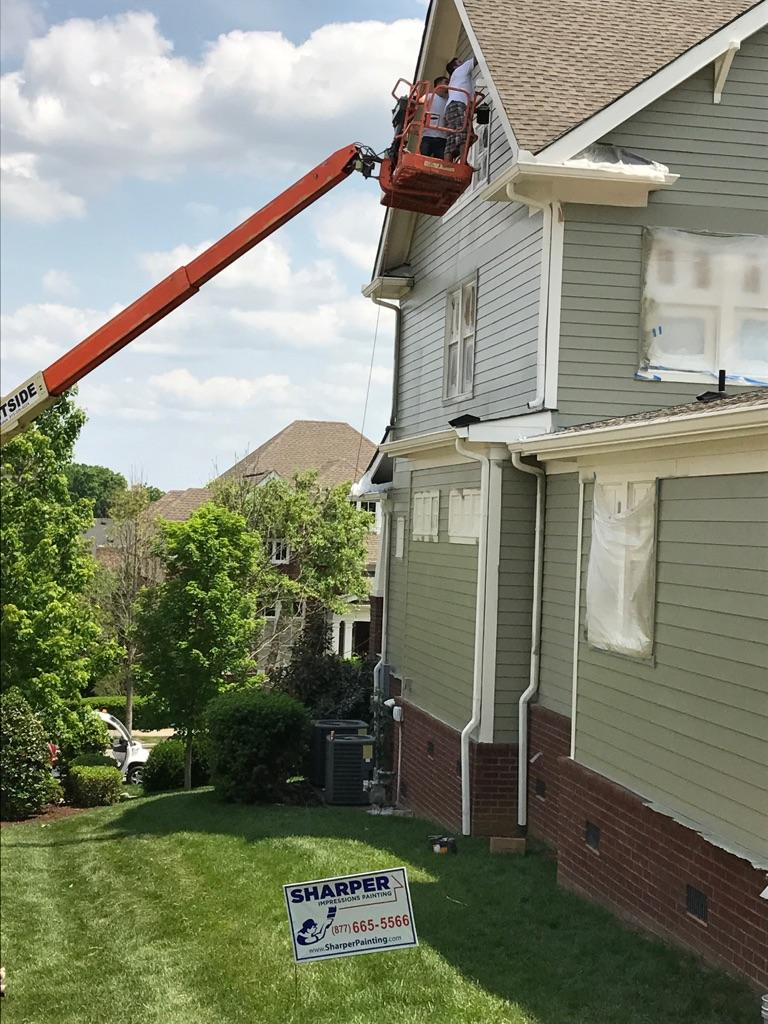 Exterior: Sharper Impressions Painting Co Coupons Near Me In Fishers