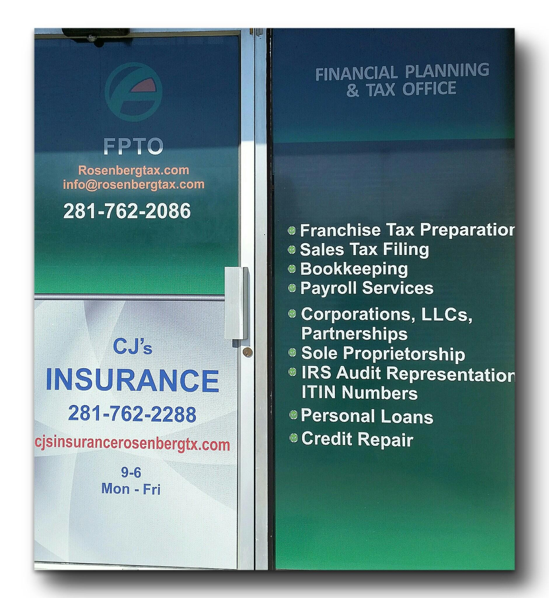 Financial Planning: Financial Planning And Tax Office In Rosenberg, TX 77471