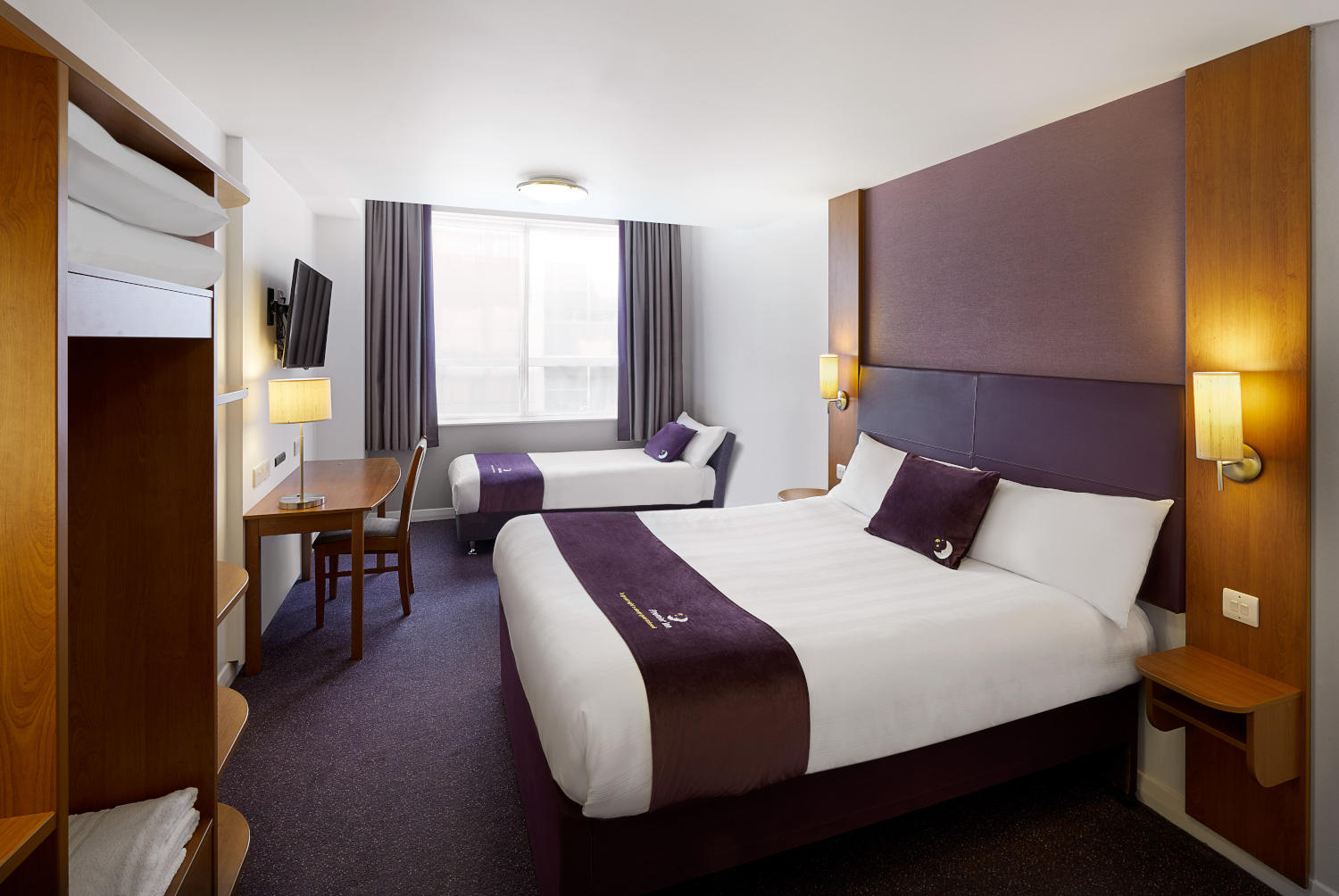 Premier Inn family room Premier Inn Lowestoft hotel Lowestoft 03333 211281