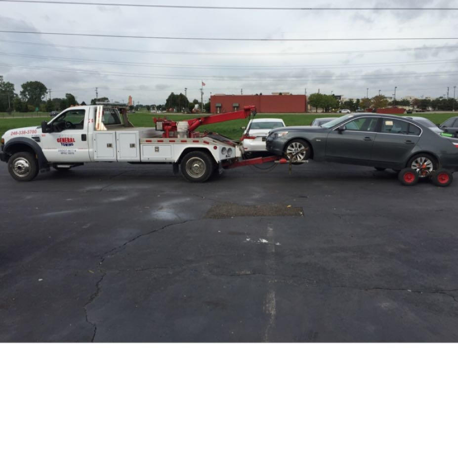 General Towing Inc Auburn Hills Michigan Mi