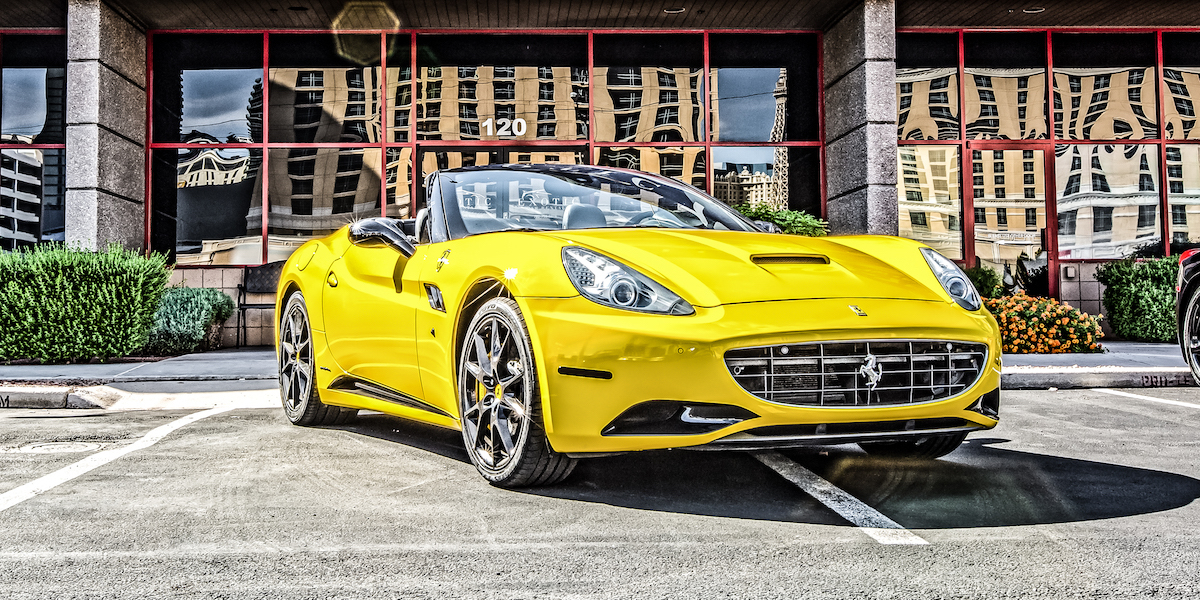 Royalty Exotic Car Rental Vegas