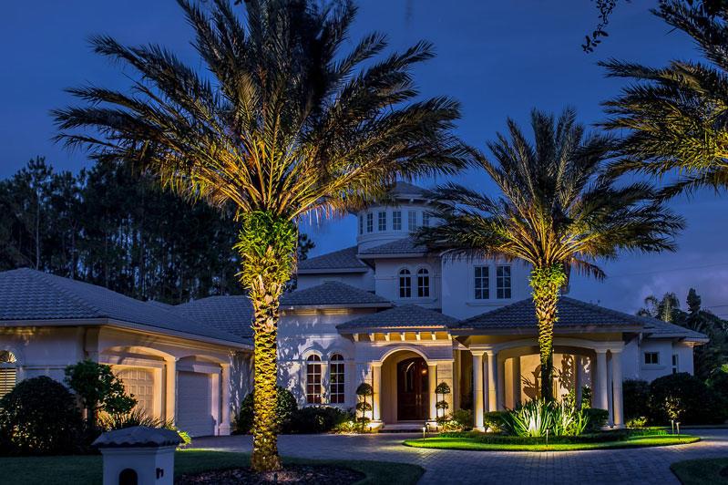 Cheval North Tampa Landscape Lighting