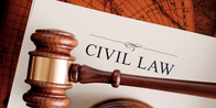 I work on many types of civil law cases.