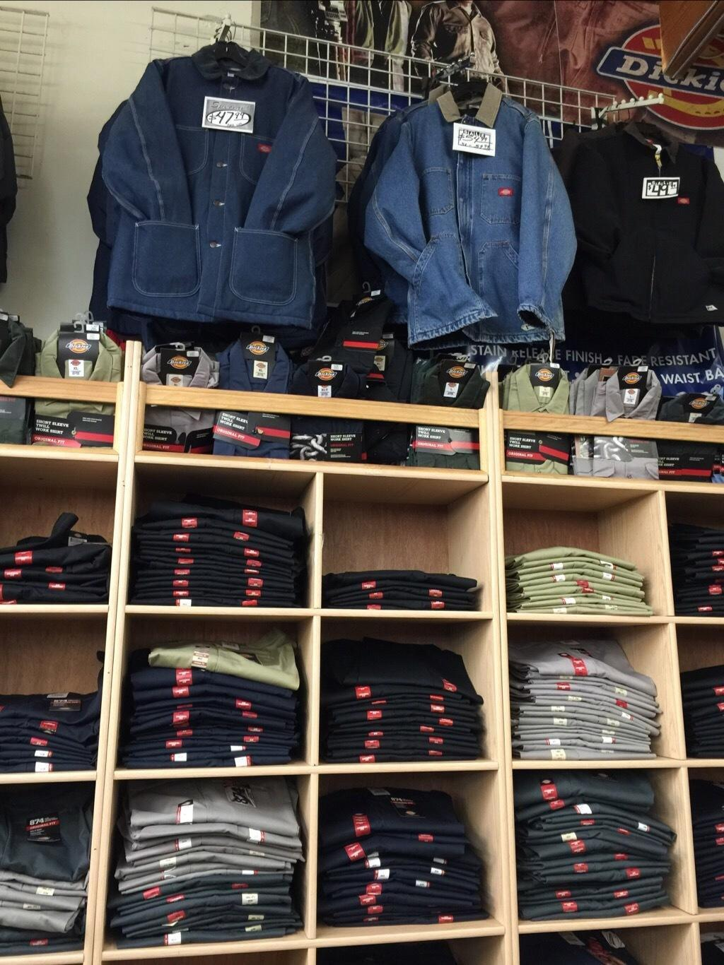 Dickies clothing store near me