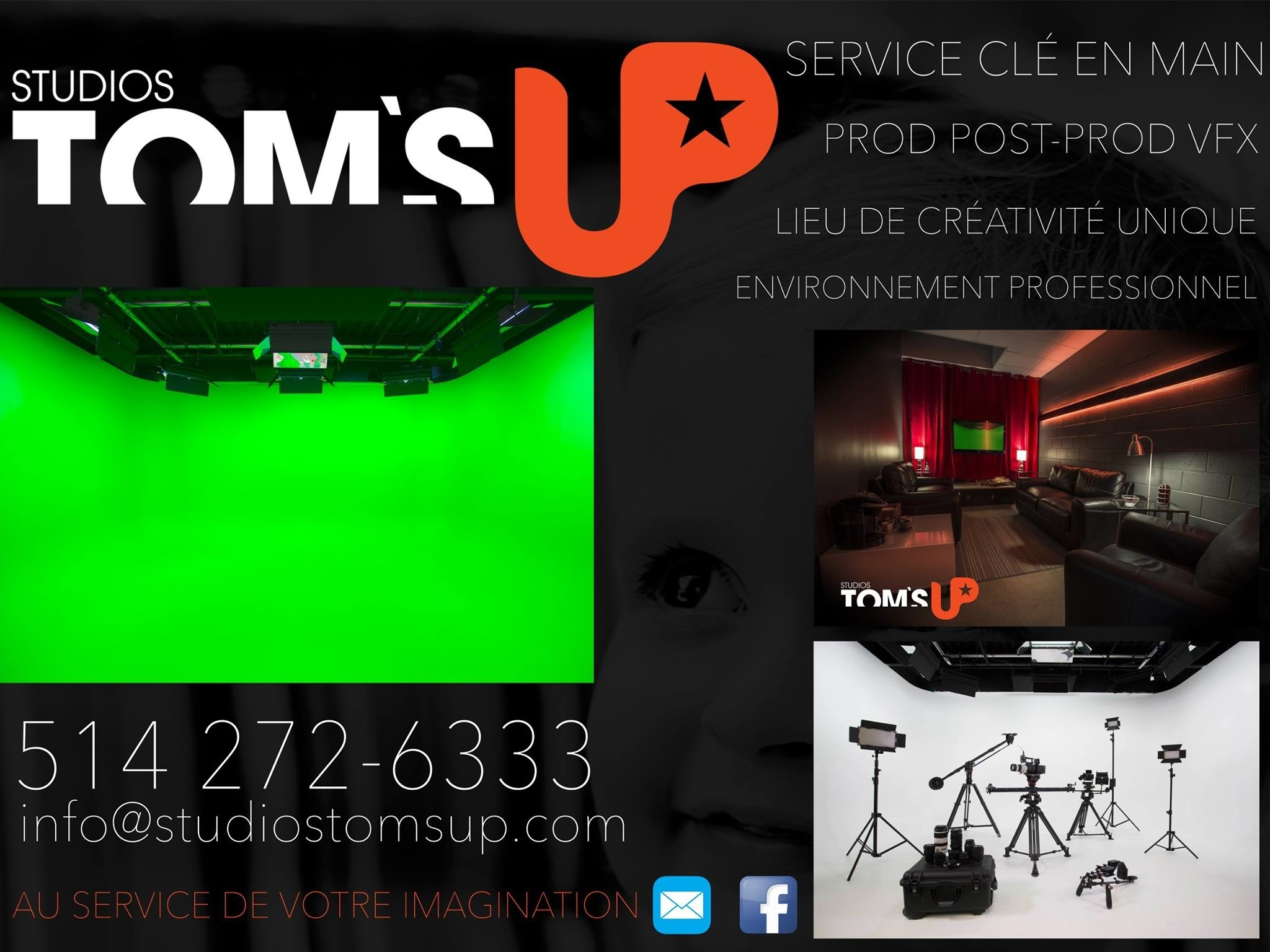 Studios Tom's Up Inc - Montreal, QC H2G 3A5 - (514)272-6333 | ShowMeLocal.com