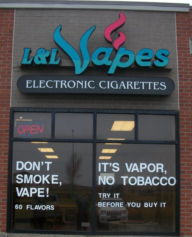 L & L VAPES ELECTRONIC CIGARETTES