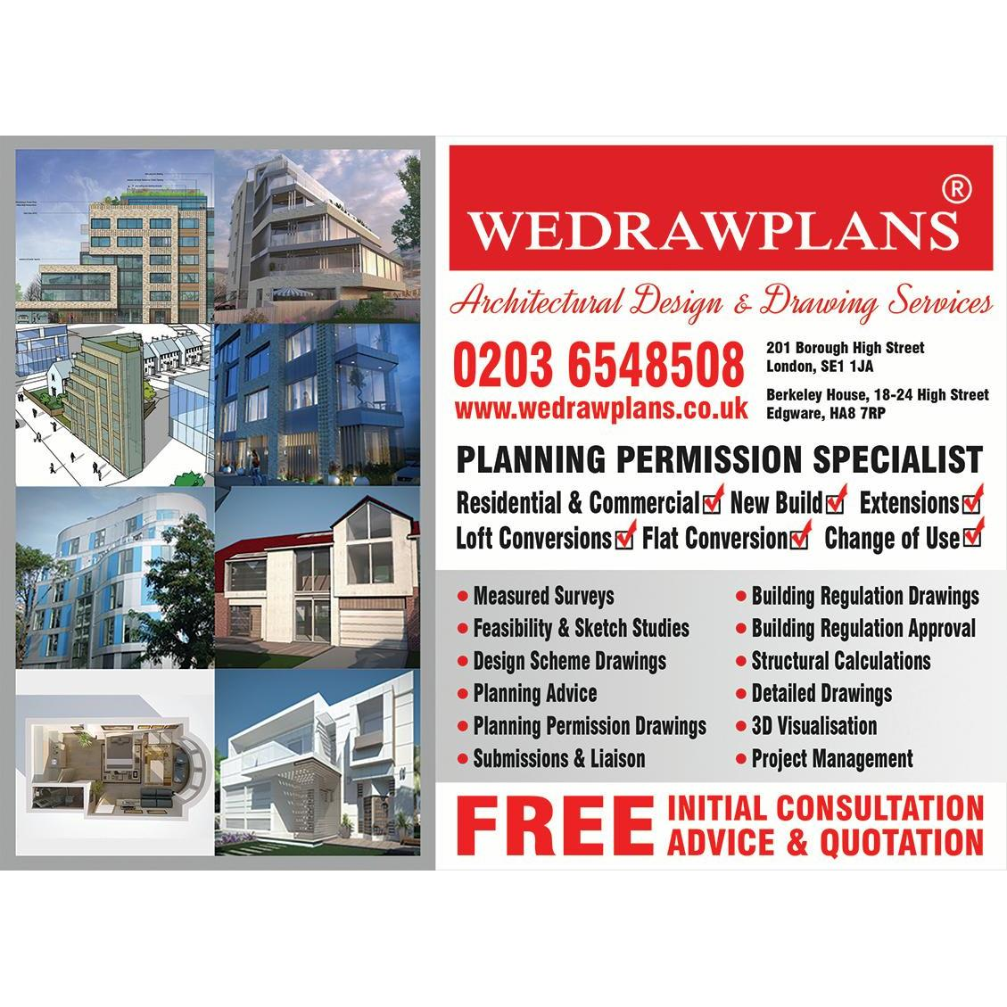 WEDRAWPLANS - Edgware, London HA8 7RP - 020 3654 8508 | ShowMeLocal.com