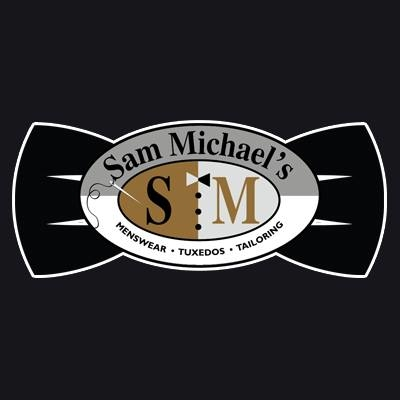 Sam michael 39 s menswear tailoring tuxedos coupons near me for Michaels craft near me