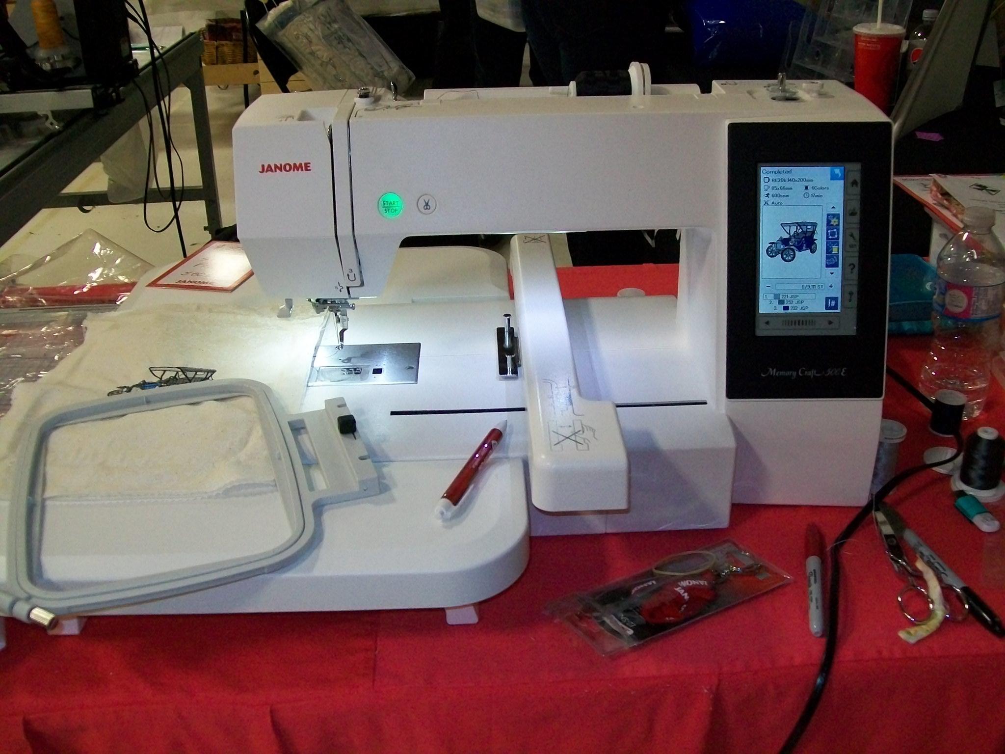 Gertie's Sewing Machine