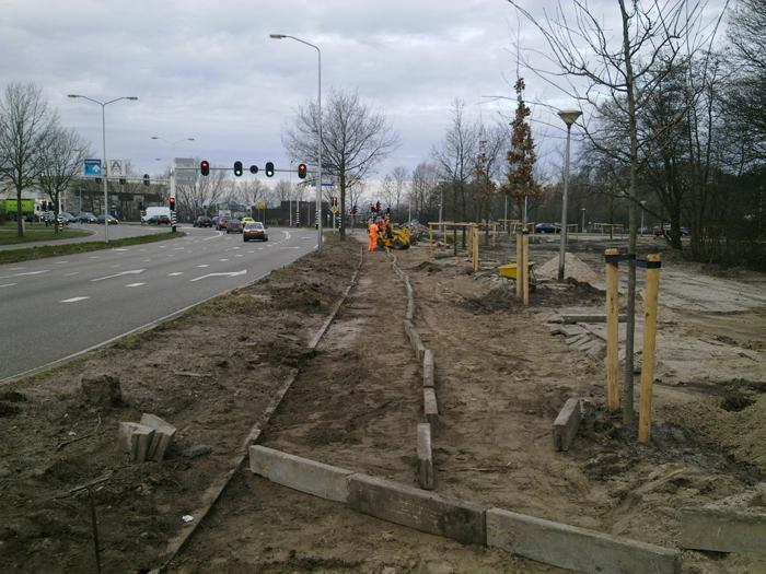 Schoonhoven Infra BV Van