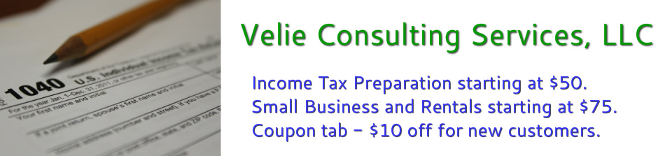 Velie Consulting Services, LLC - ad image