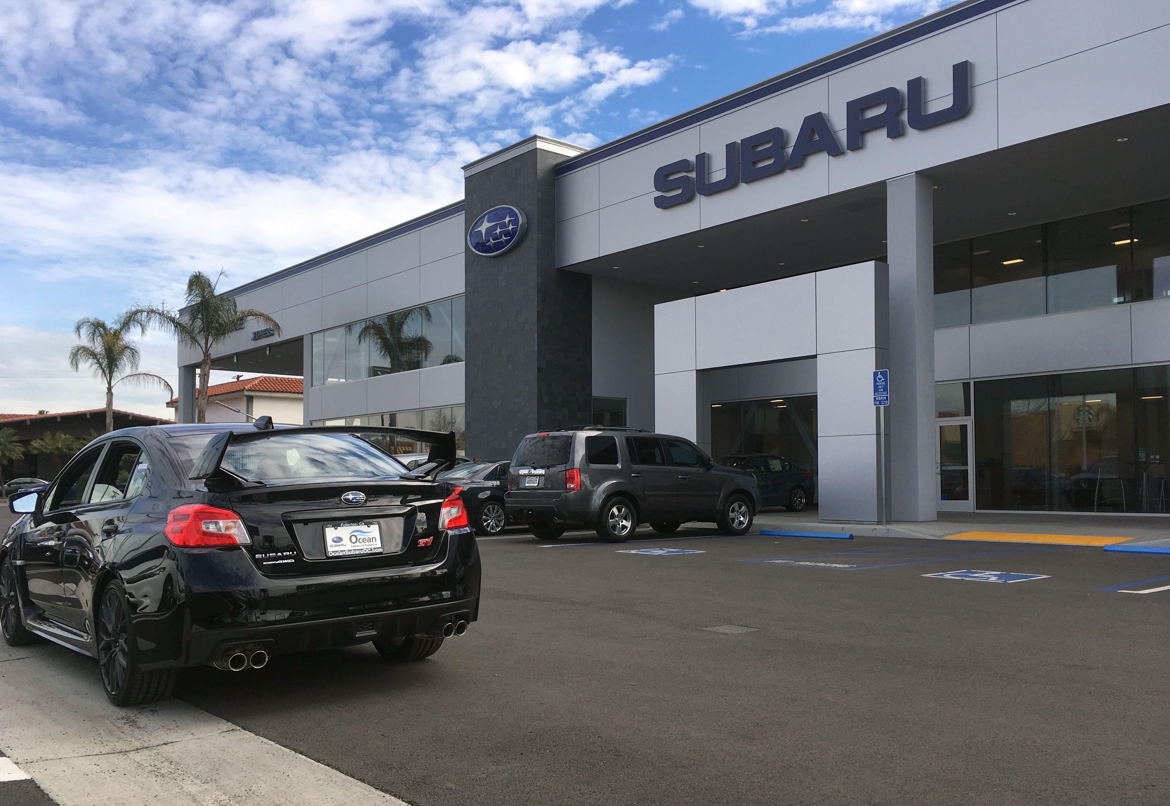 Car Dealer in CA Fullerton 92832 Ocean Subaru of Fullerton 1100 S. Euclid St.  (888)428-2419