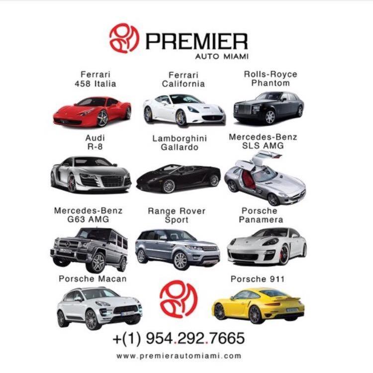 Premier Auto Miami Miami Beach Florida Fl