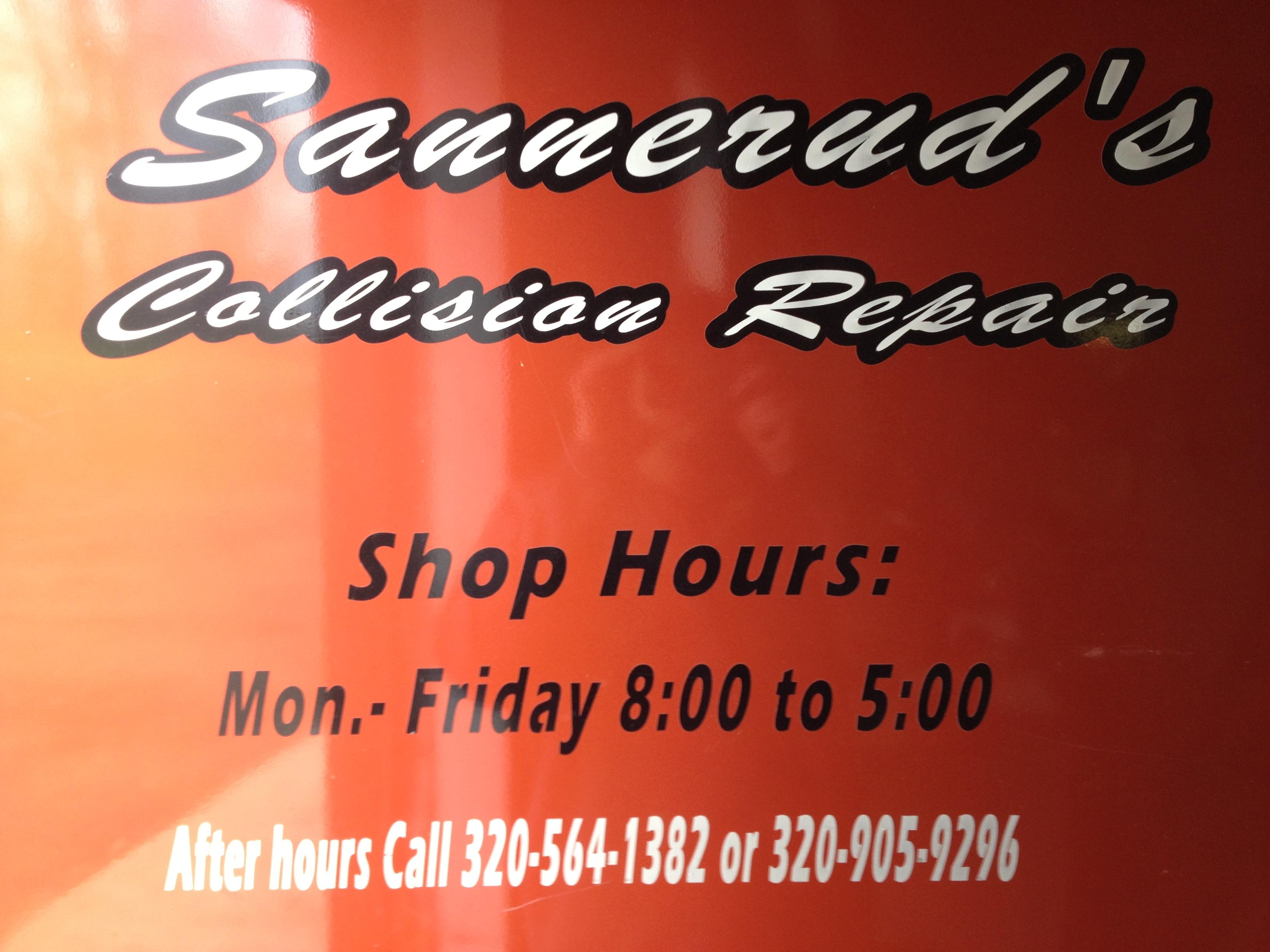 Sannerud's Collision Repair & Glass