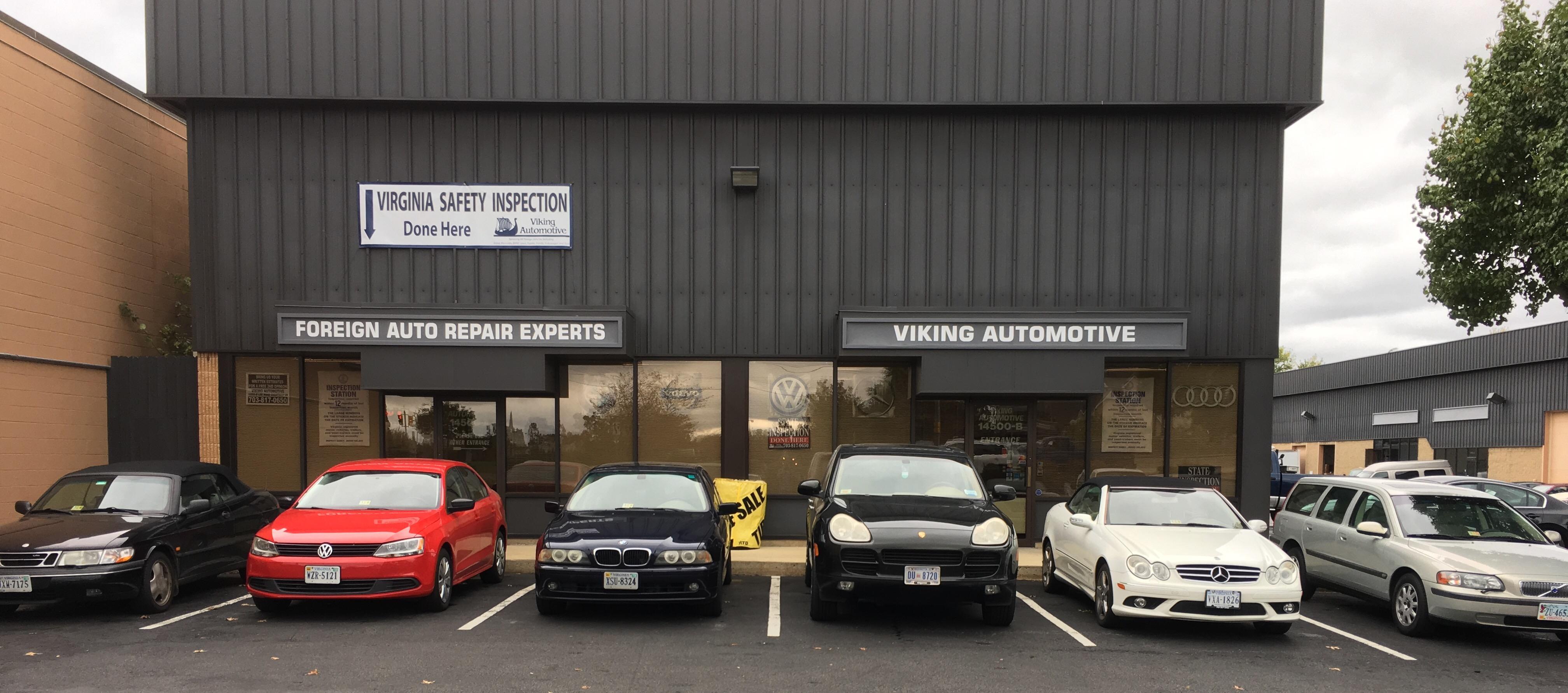 Viking automotive chantilly virginia va for Mercedes benz chantilly service hours