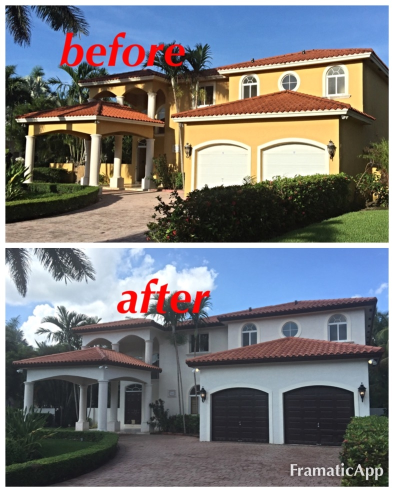 Brito home painting miami florida fl for House painting miami