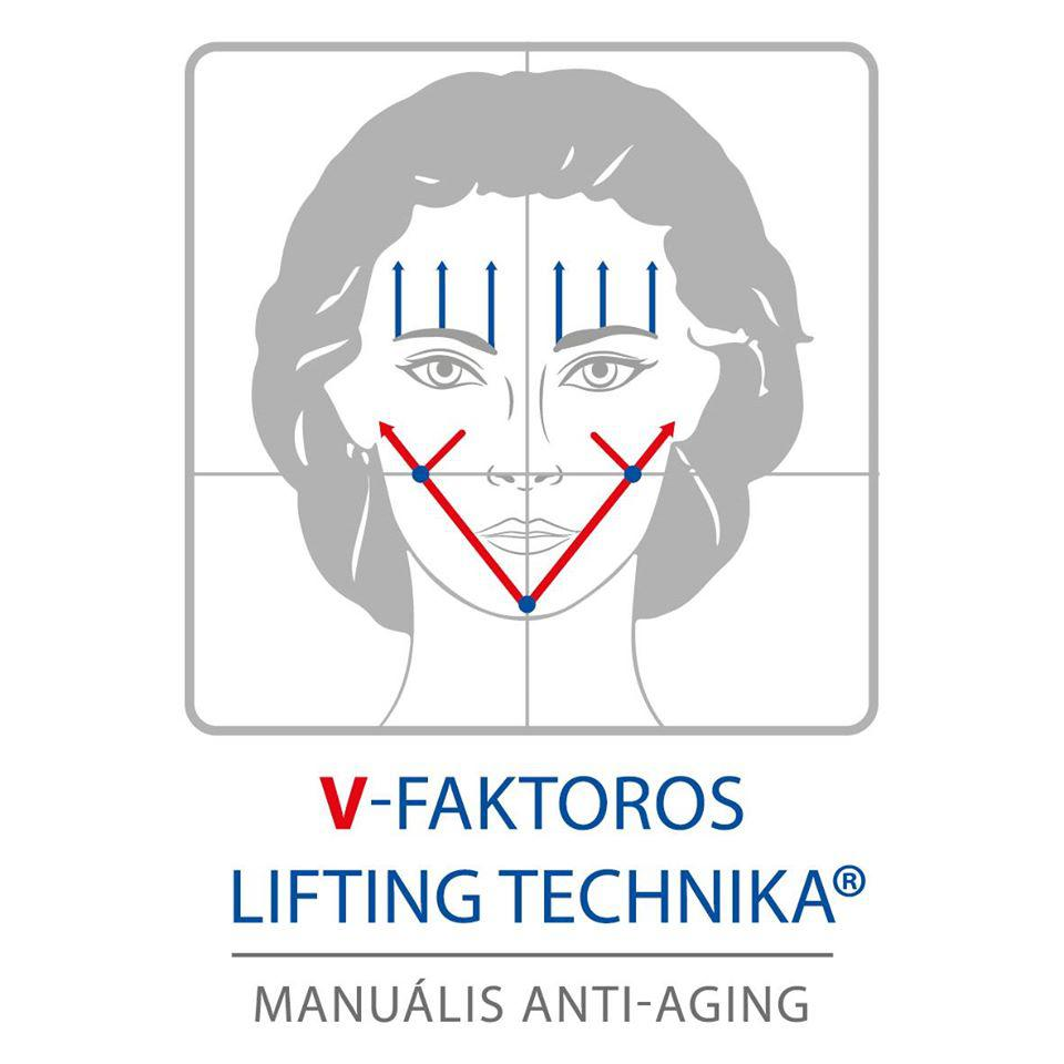 Kozmetikus V-faktoros lifting technika, lift mee led mask, lézeres ránctalanítás - Szépség esztétika