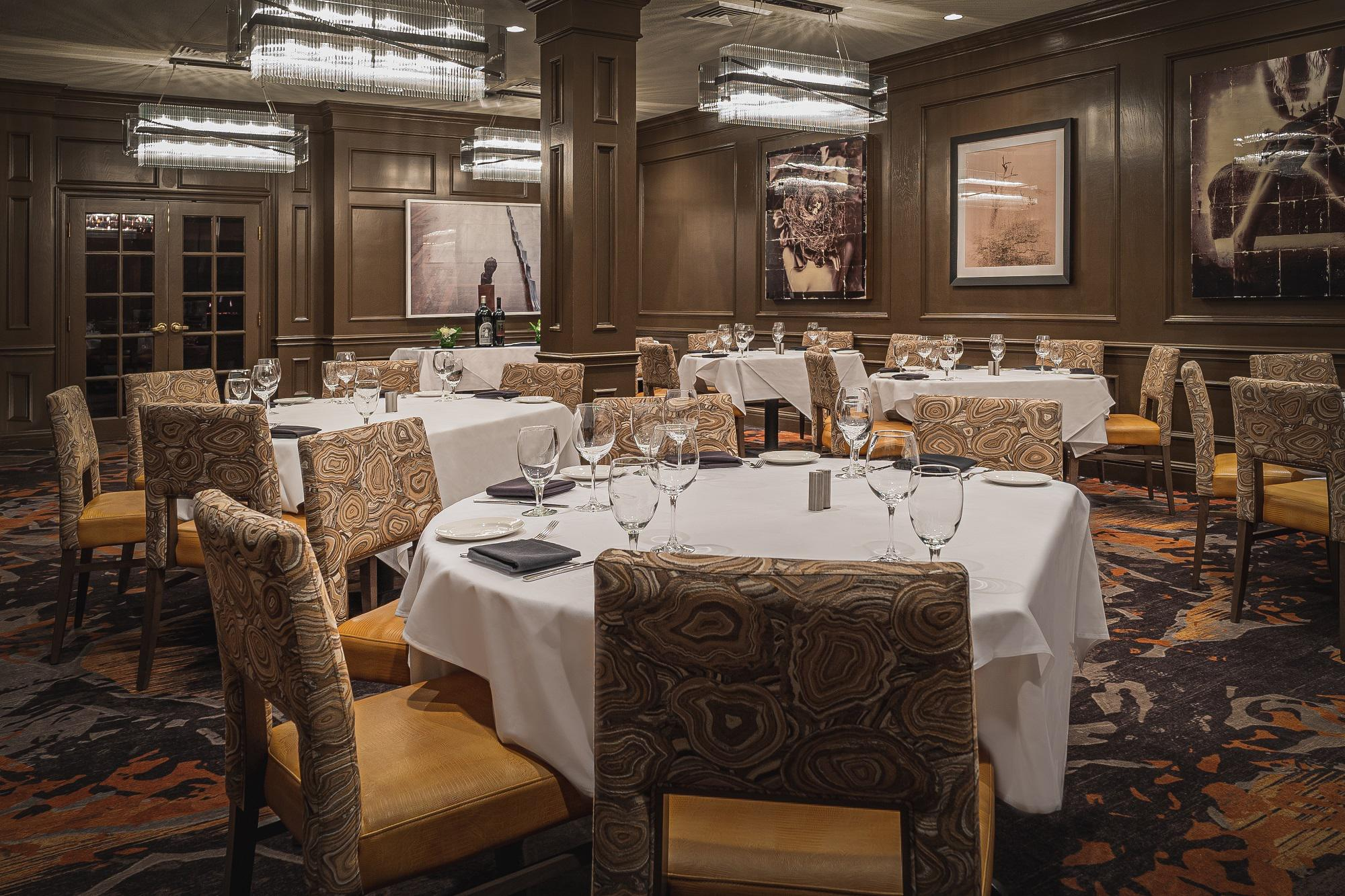 Del Frisco's Double Eagle Steakhouse Denver Lincoln Room private dining room
