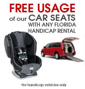 Hertz Car Rental Handicap Van