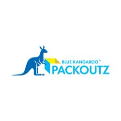 Blue Kangaroo PACKOUTZ of Fresno County Logo