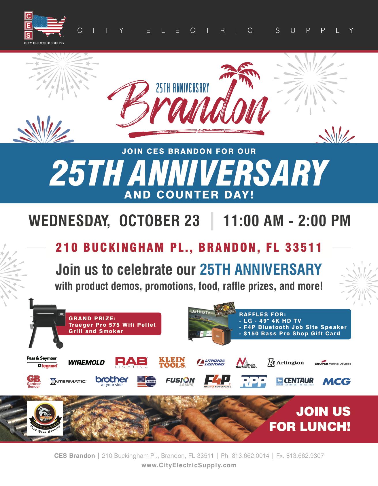 CES Brandon, FL 25th Anniversary