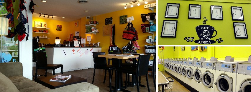 Go Fresh Laundromat & Cafe in Penticton