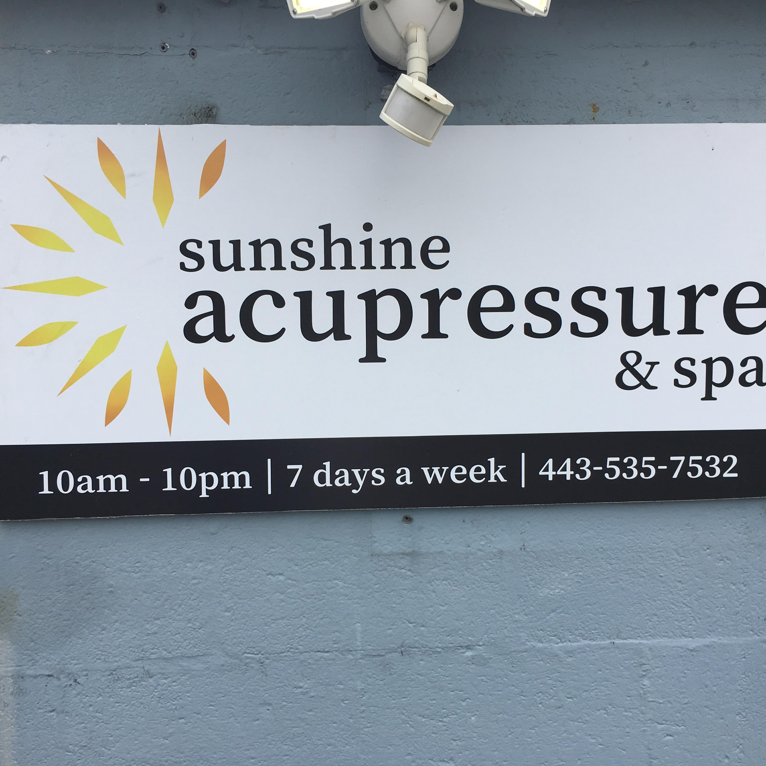Sunshine Acupressure and Spa