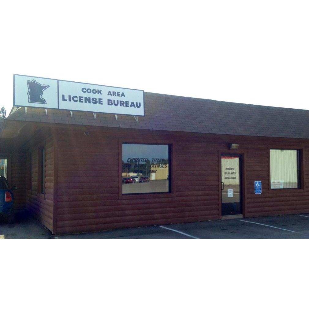 Cook area license bureau inc in cook mn 55723 for Bureau licence