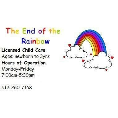 The End Of The Rainbow - Leander, TX - Child Care