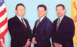 Mat Perez, Retired FBI, Glenn J. Holmes, President H & H, Julian Gonzales, Retired FBI