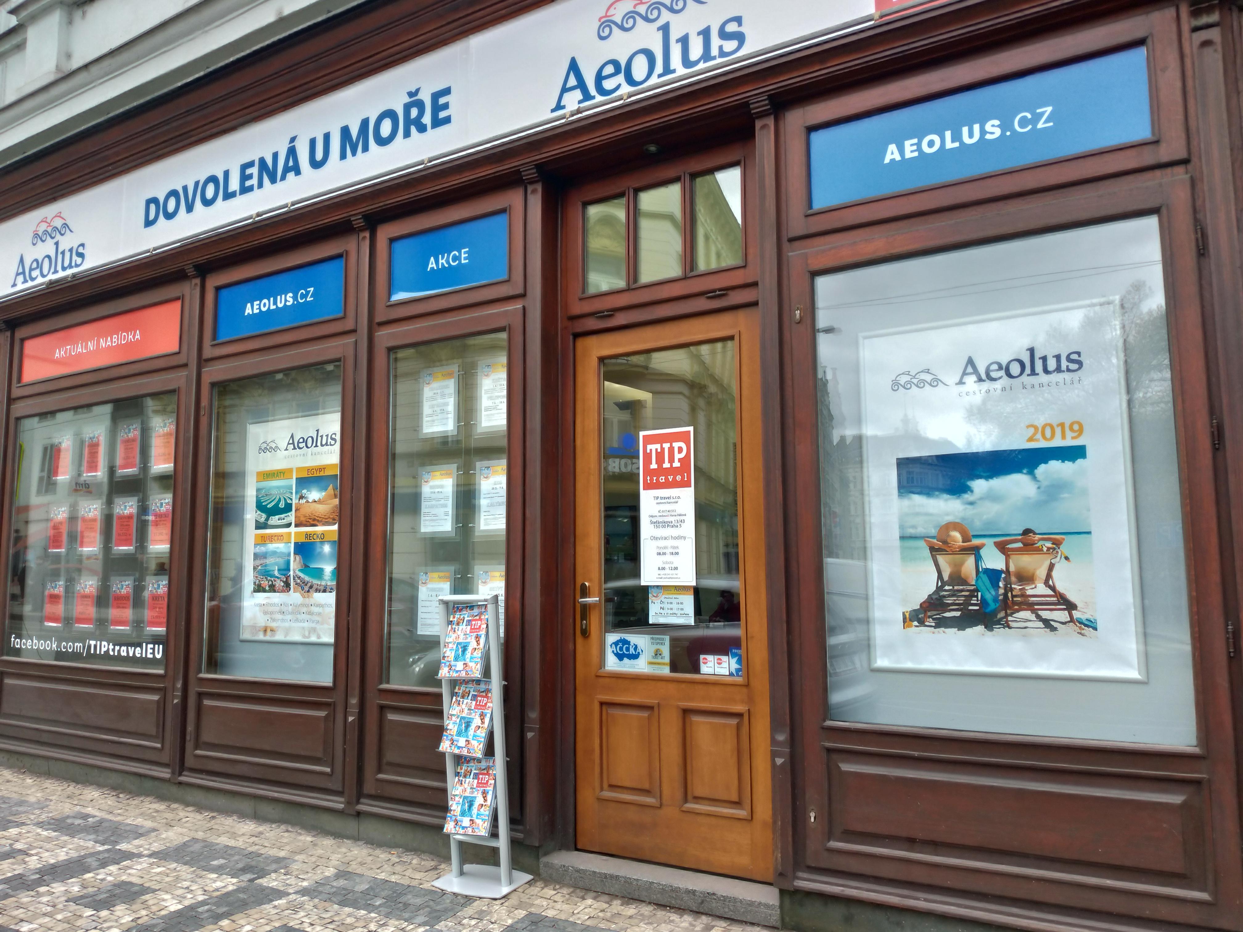 AEOLUS Praha, řecká cestovní kancelář s.r.o.
