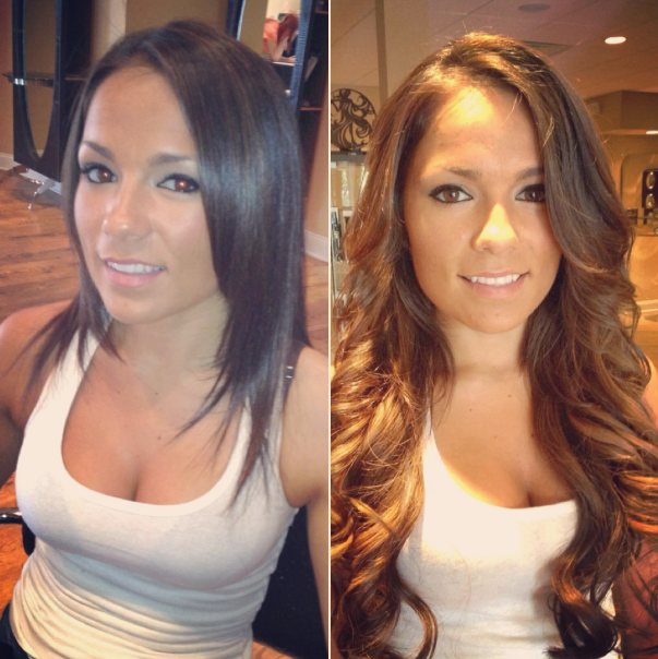 Chicago hair extensions salon in chicago 3530 n ashland ave skin weft hair extensions pmusecretfo Images