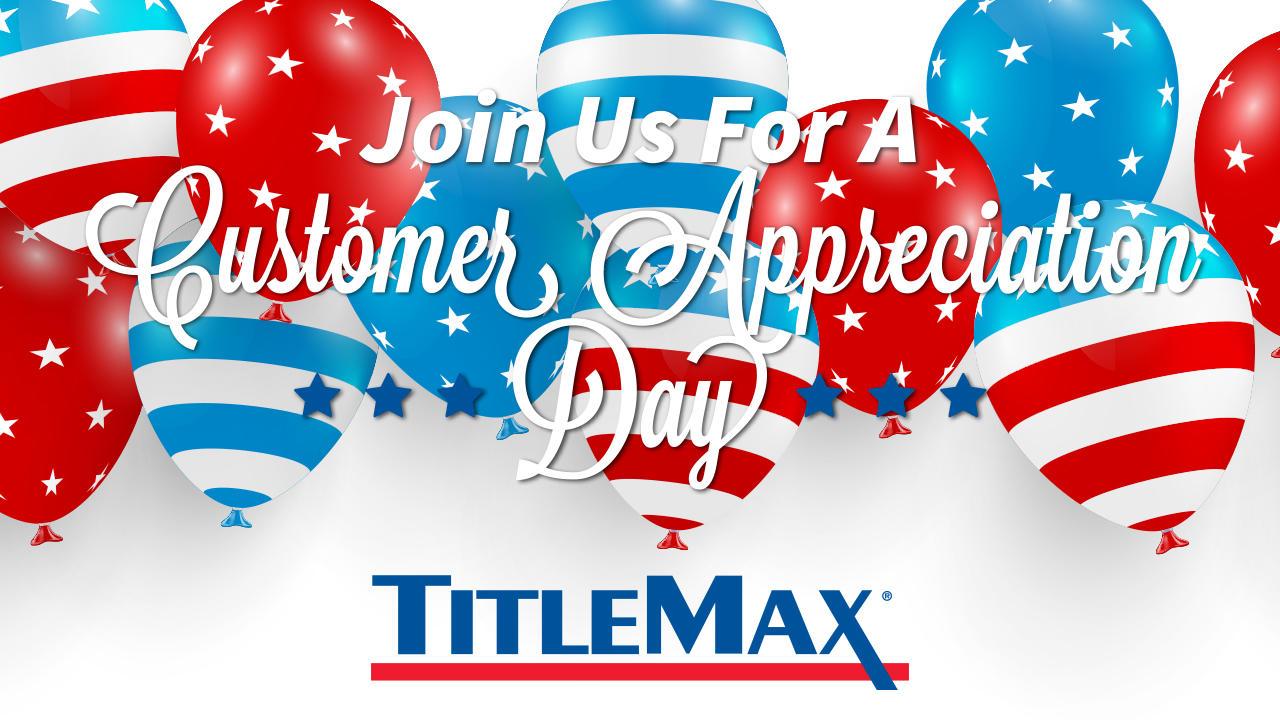 Memorial Day Community Appreciation at TitleMax Greenville, SC