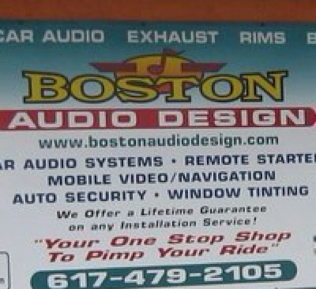 Boston Audio Design Inc.