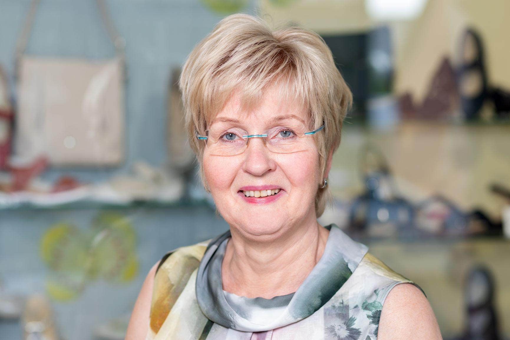 Geschäftsführerin Liesel Steinborn