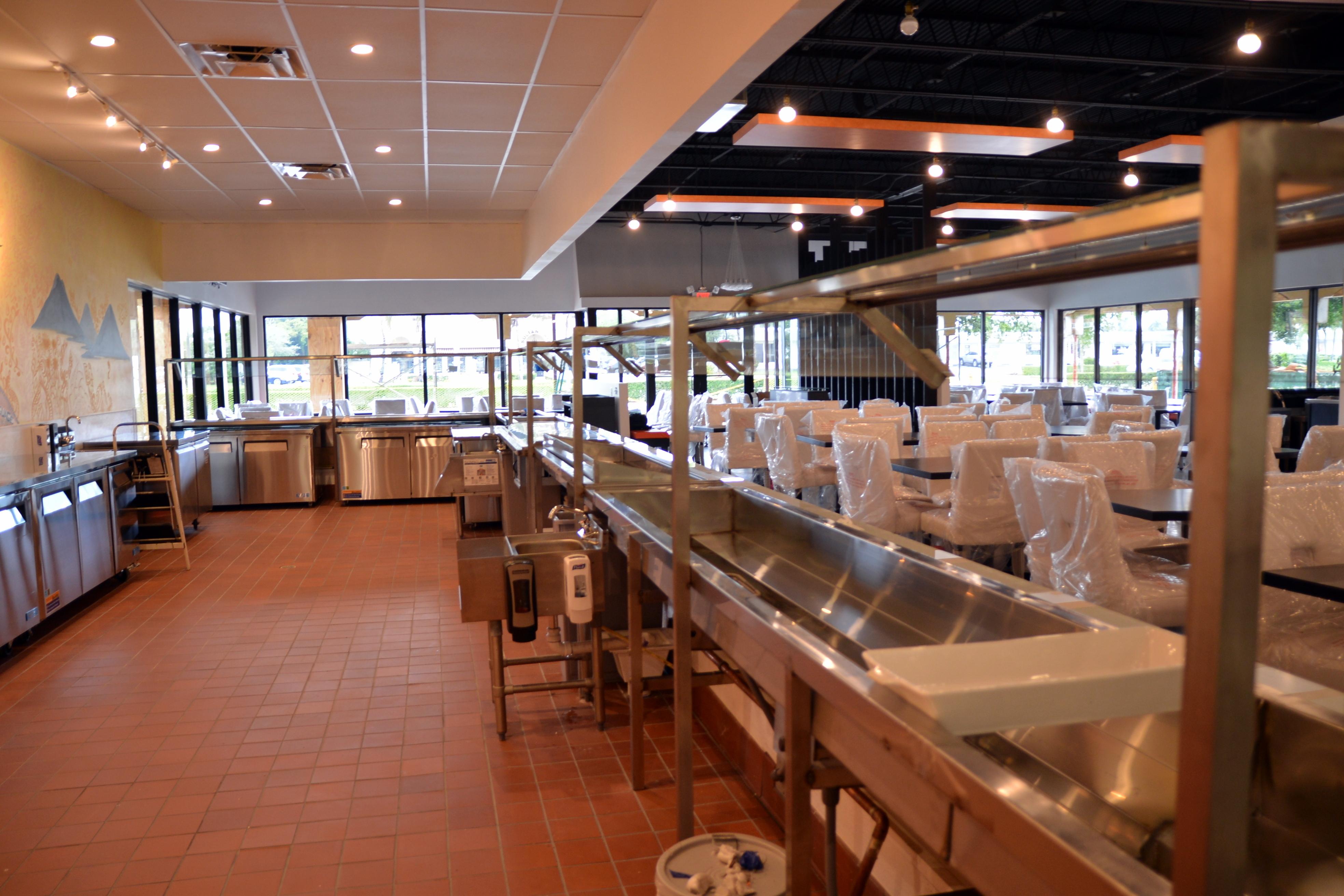 Santo s modern american buffet sushi boca raton florida for Fish restaurants in boca raton