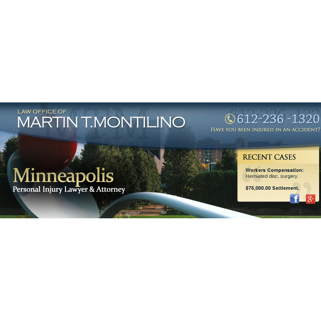 Law Office of Martin T Montilino Injury Lawyer