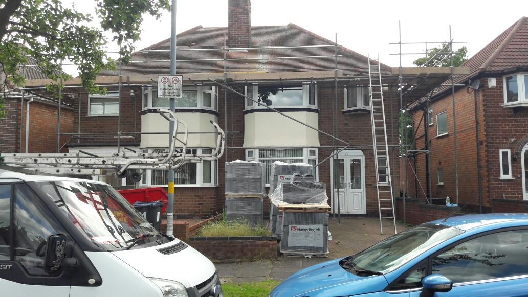 Wolverhampton & Dudley Roofing Birmingham 07796 151291