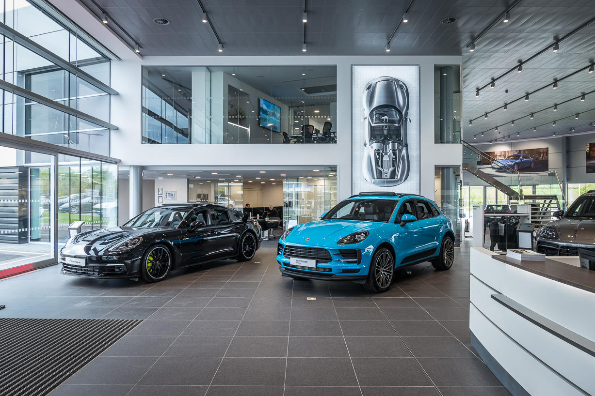Porsche Centre Edinburgh