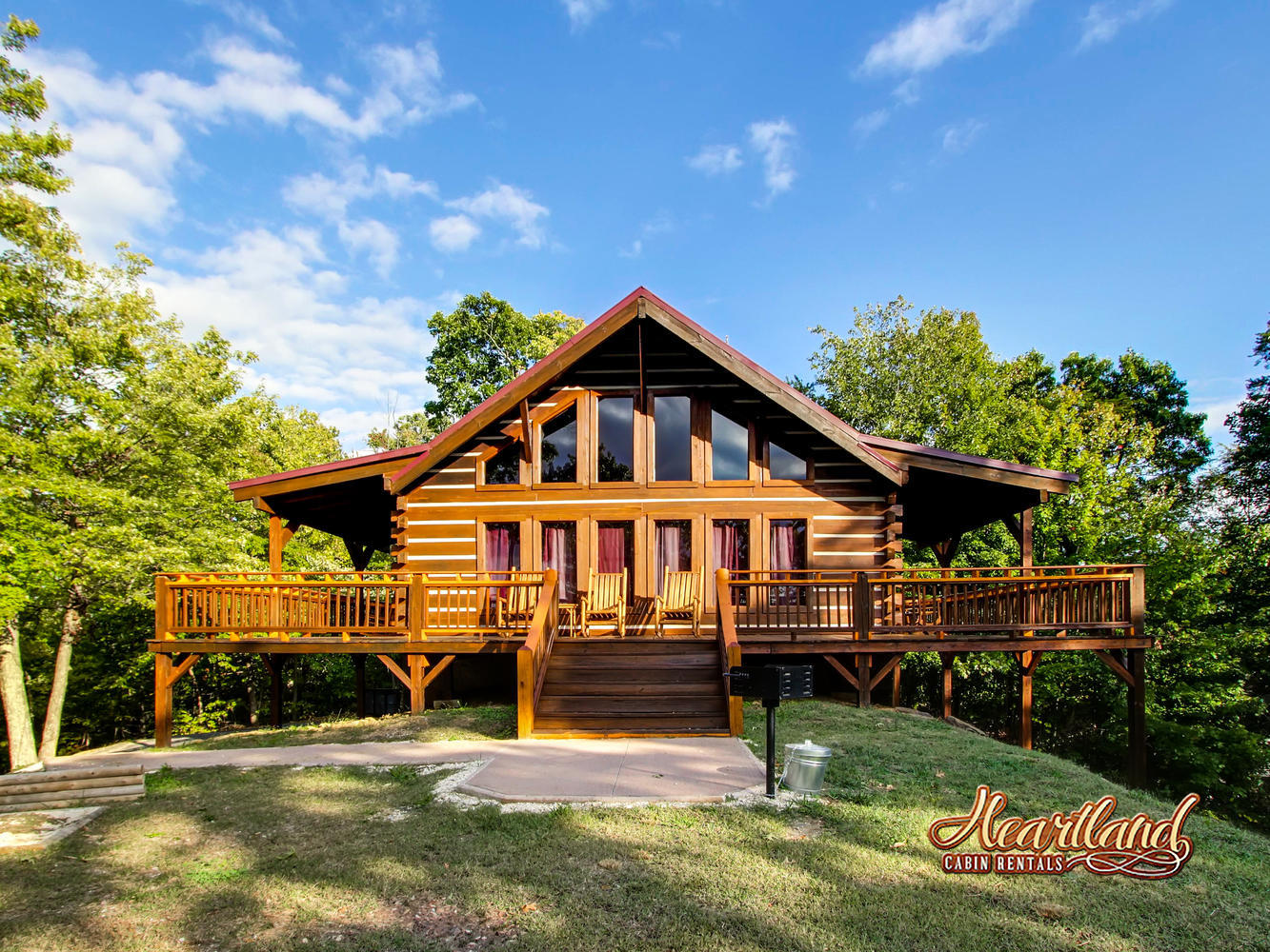 Heartland cabin rentals in pigeon forge tn 37863 for 1 bedroom pet friendly cabins in gatlinburg tn