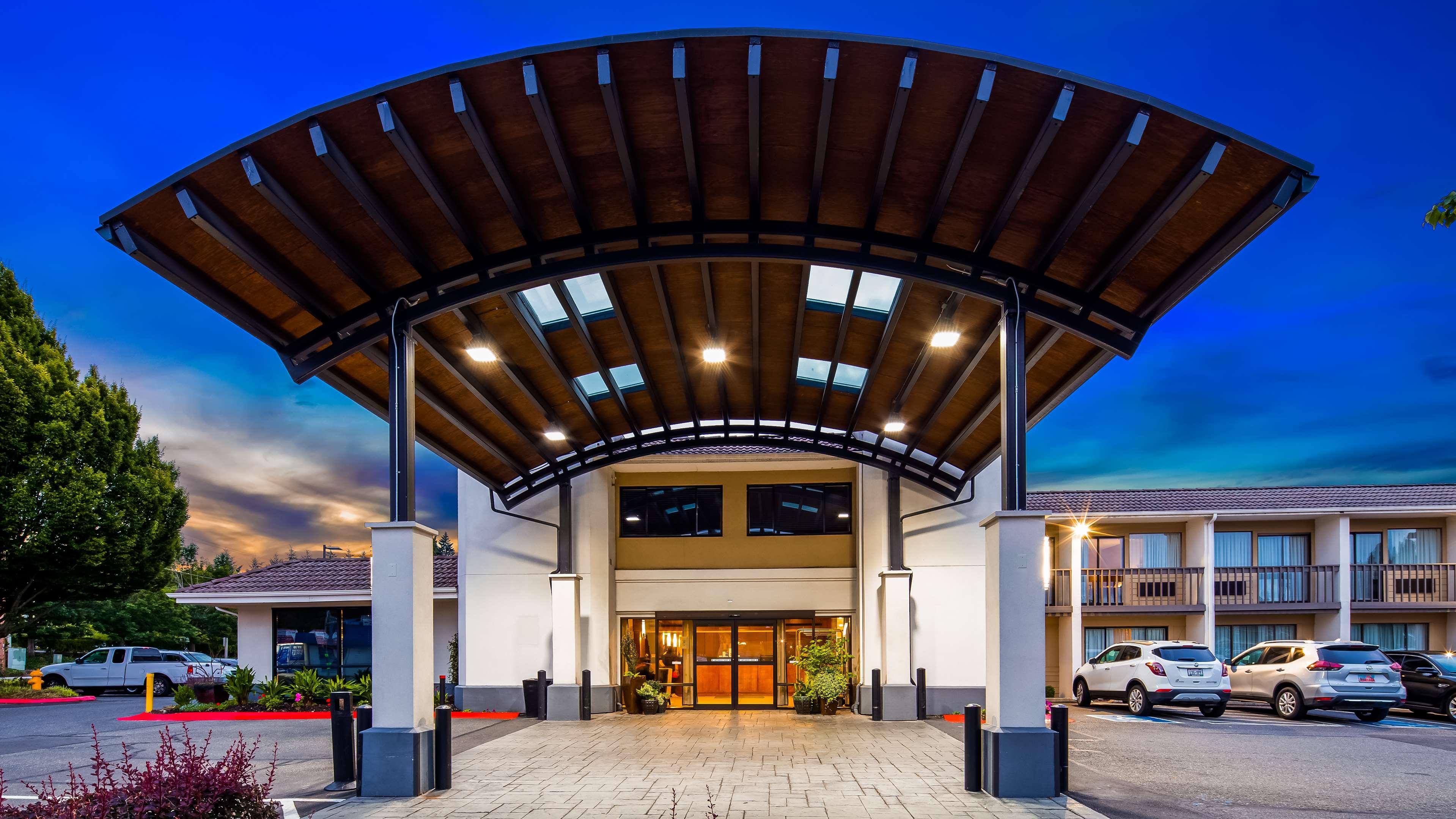 Exterior Best Western Seattle Airport Hotel Seattle (206)878-3300
