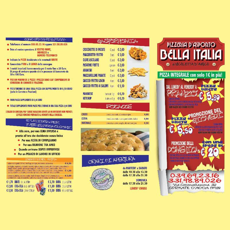 Pizzeria D'Asporto Bella Italia