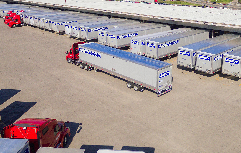 Averitt Express Truck Yard