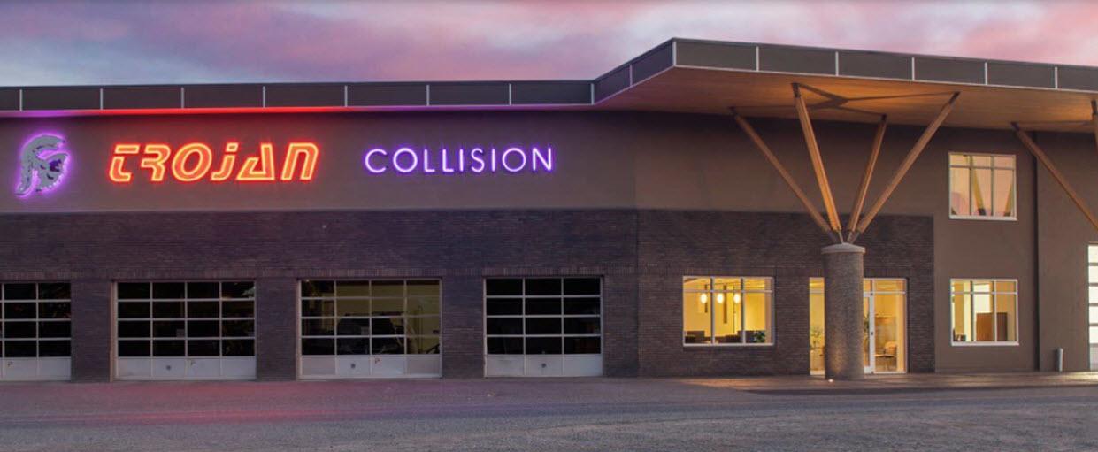 Trojan Collision in Nanaimo