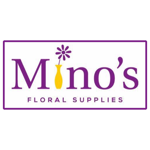 Mino's Floral Supplies Logo