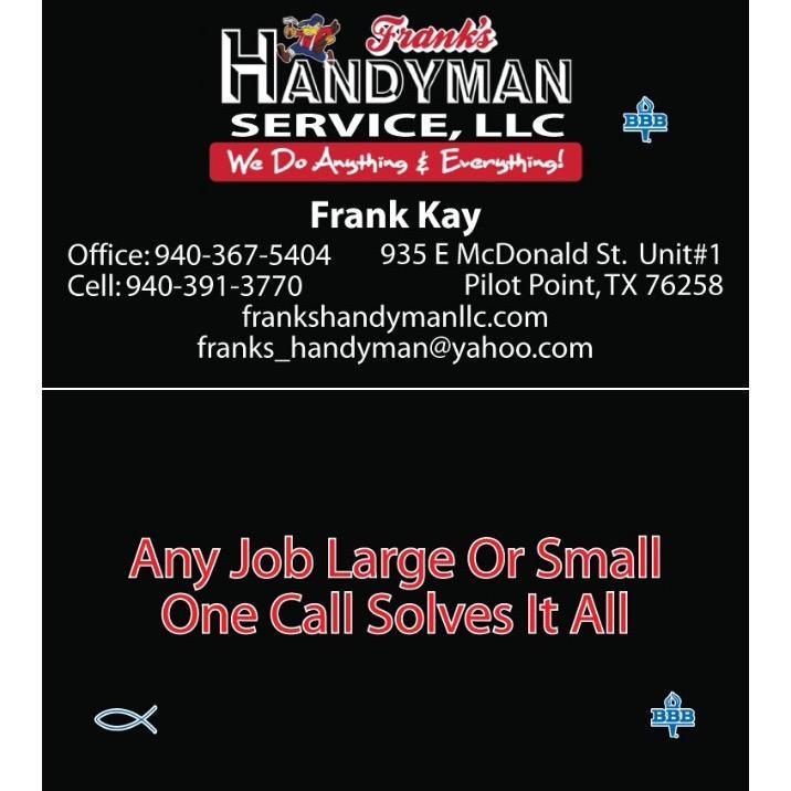 Franks Handyman
