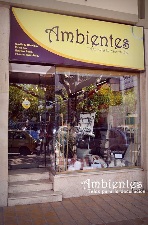 AMBIENTES - TELAS PARA DECORACION Y TAPICERIA