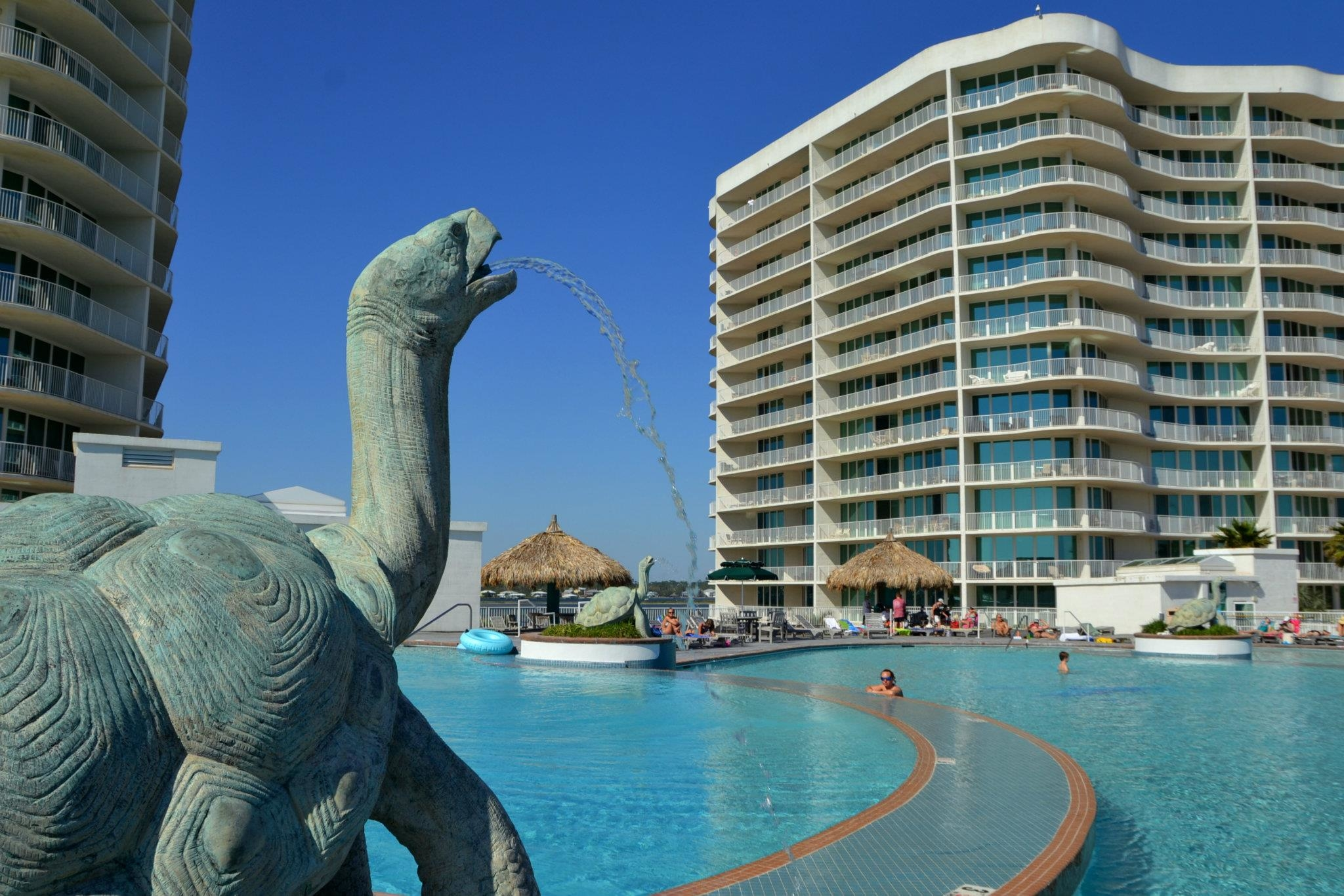 It is a water world at Caribe Resort