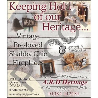A R D Heritage Ltd - Brierley Hill, West Midlands DY5 2AB - 01384 412181 | ShowMeLocal.com